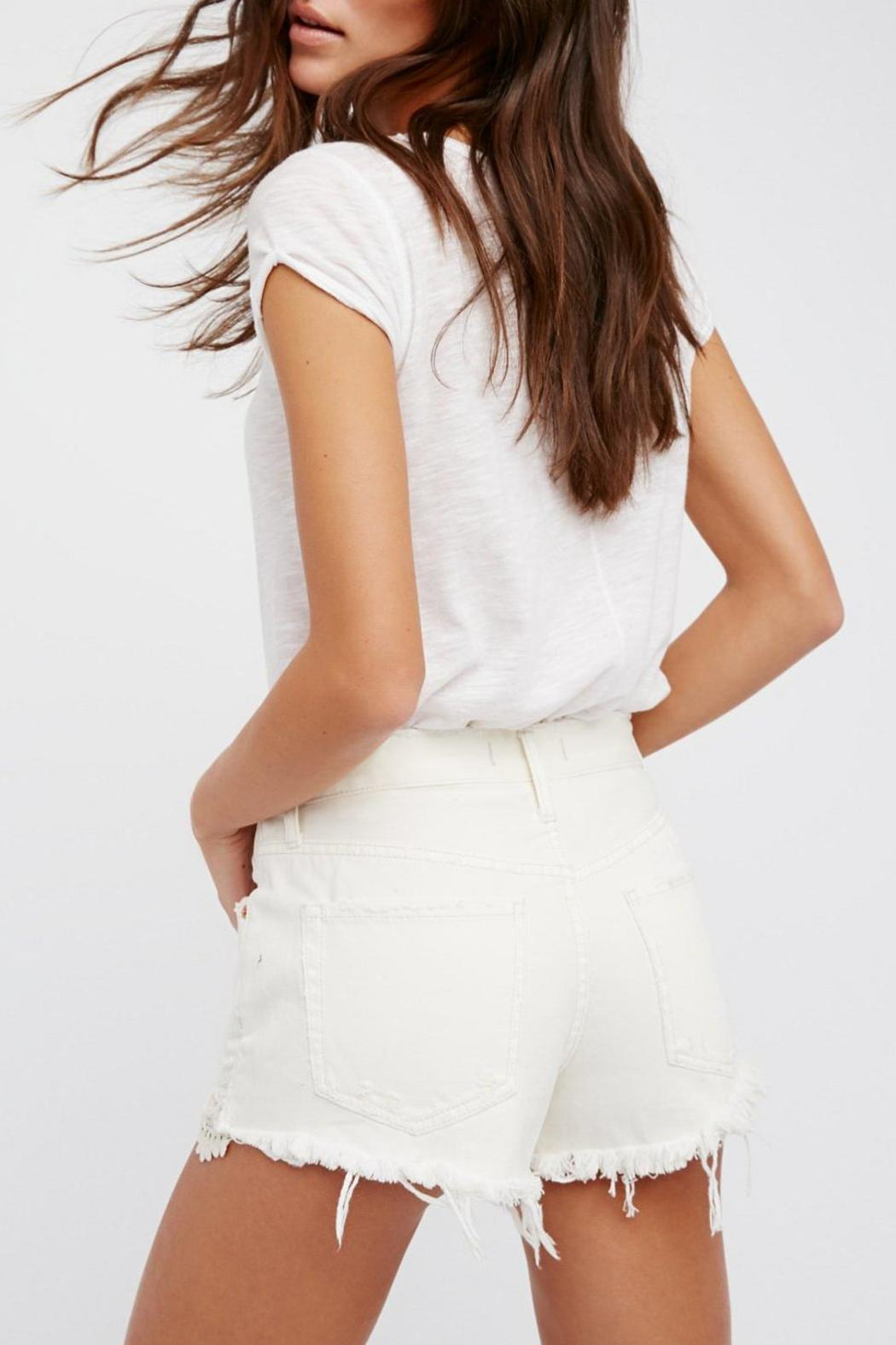 Free People Daisy Chain Lace Short - Front Full Image