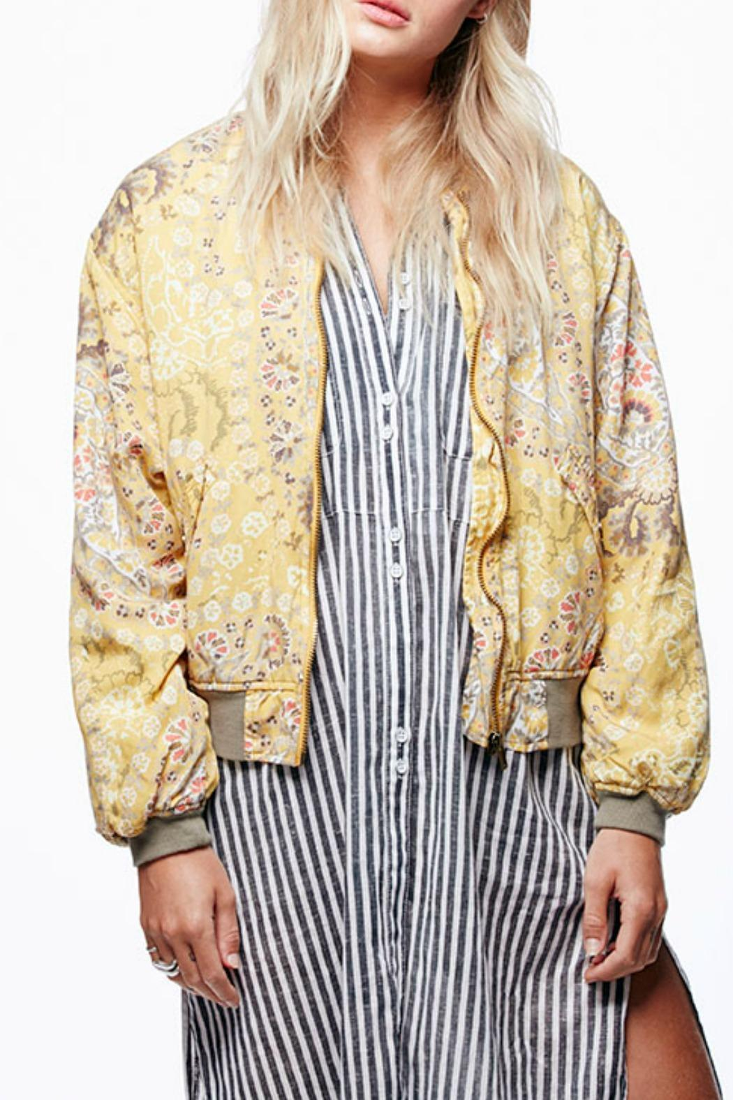 eaaab2463 Free People Daytrip Printed Bomber from New Jersey by Seagrass ...