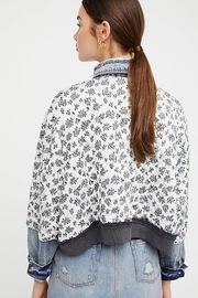 Free People Ditsy Denim Jacket - Side cropped