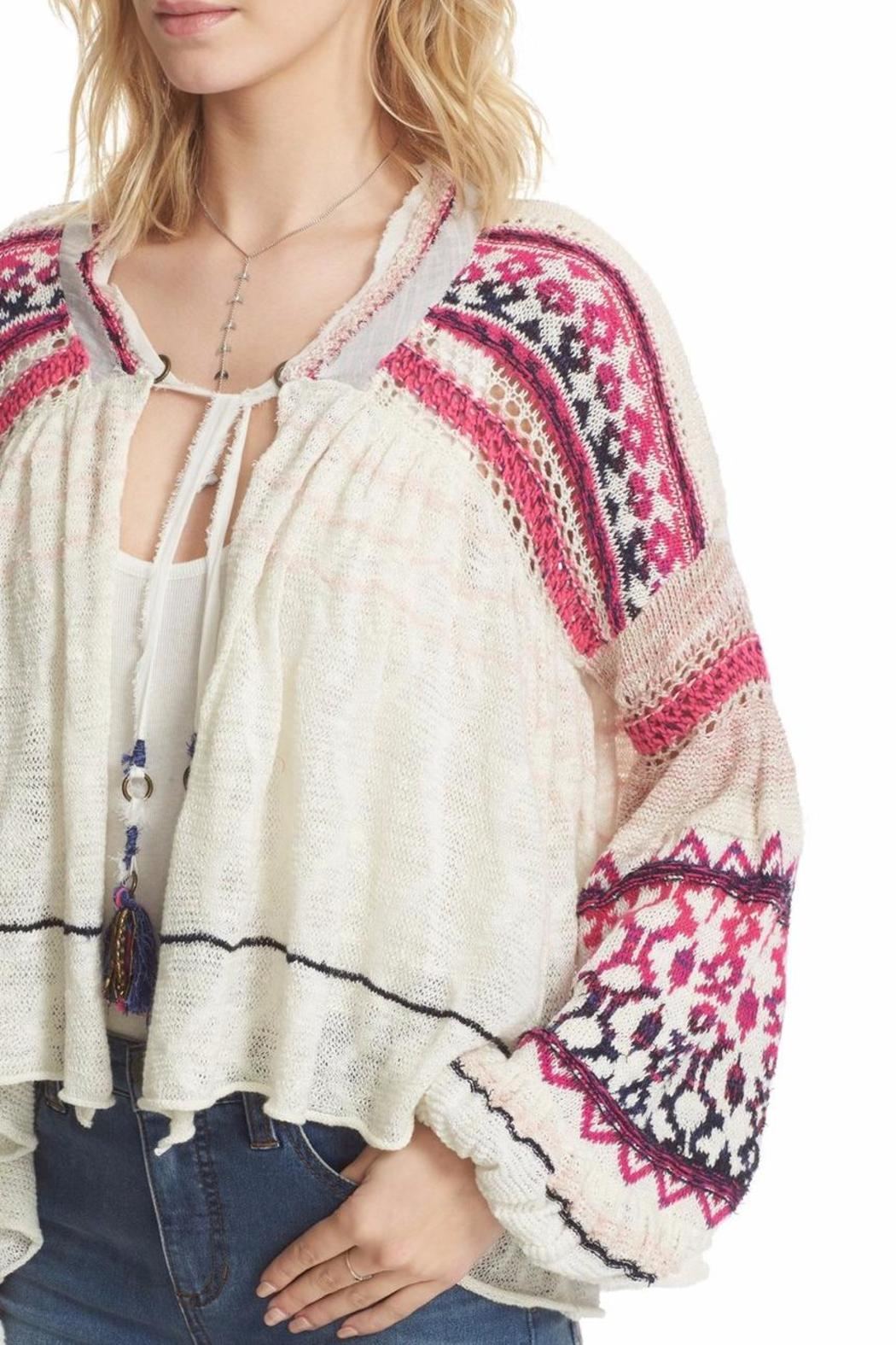 Free People Dreamland Laid Back Cardigan - Front Cropped Image