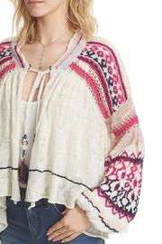 Free People Dreamland Laid Back Cardigan - Front cropped