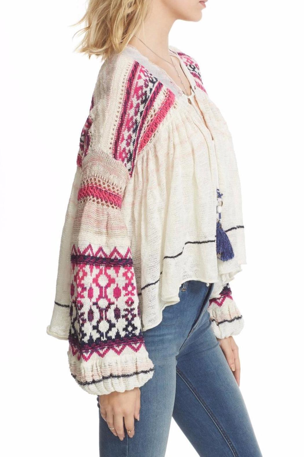 Free People Dreamland Laid Back Cardigan - Side Cropped Image
