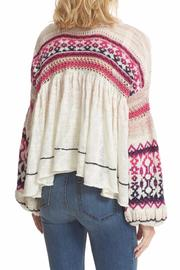 Free People Dreamland Laid Back Cardigan - Front full body