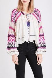 Free People Dreamland Laid Back Cardigan - Back cropped