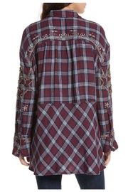 Free People Embellished Shirt - Front full body