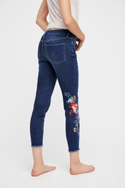 Free People Embroidered Bird Jean - Side cropped