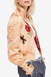 Free People Embroidered Cropped Bomber - Product Mini Image