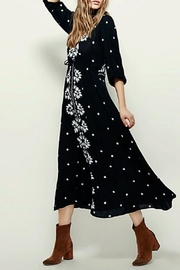 Free People Embroidered Maxi Dress - Product Mini Image