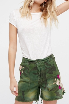 Free People Embroidered Scout Short - Product List Image