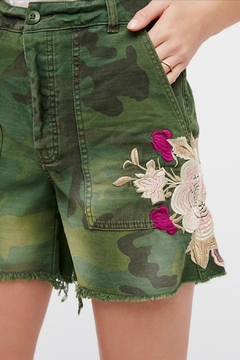 Free People Embroidered Scout Short - Alternate List Image