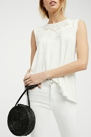 Free People Embroidered Sleeveless Tank - Product Mini Image