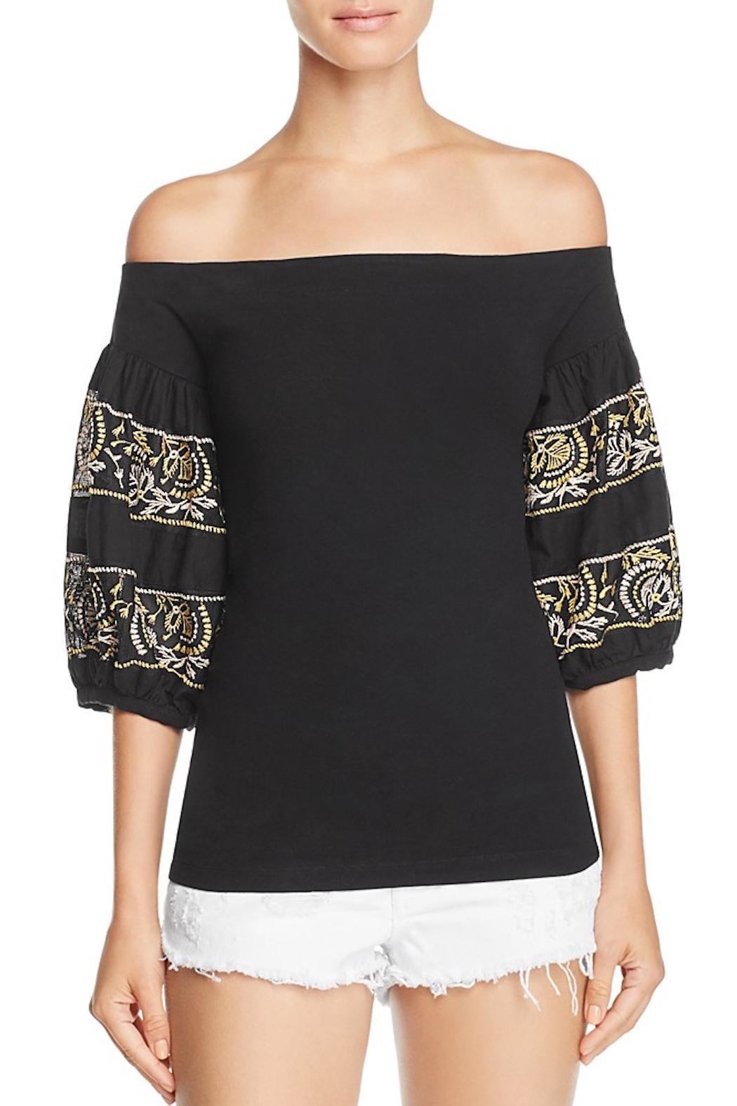 Free People Embroidered Top - Main Image