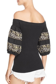 Free People Embroidered Top - Front full body