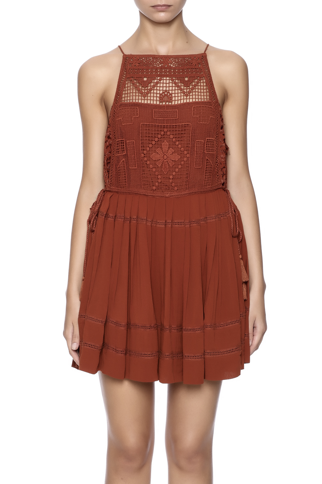 Free People Emily Dress - Side Cropped Image