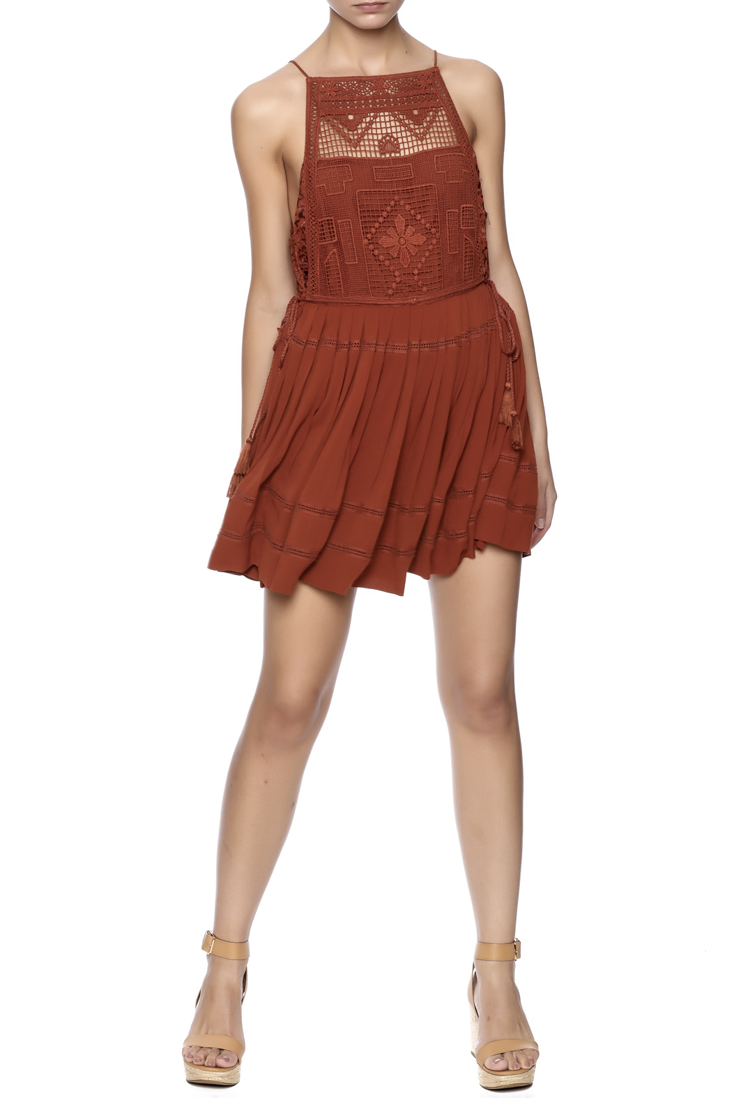 Free People Emily Dress - Front Full Image