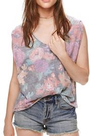 Shoptiques Product: Faded Floral Tee