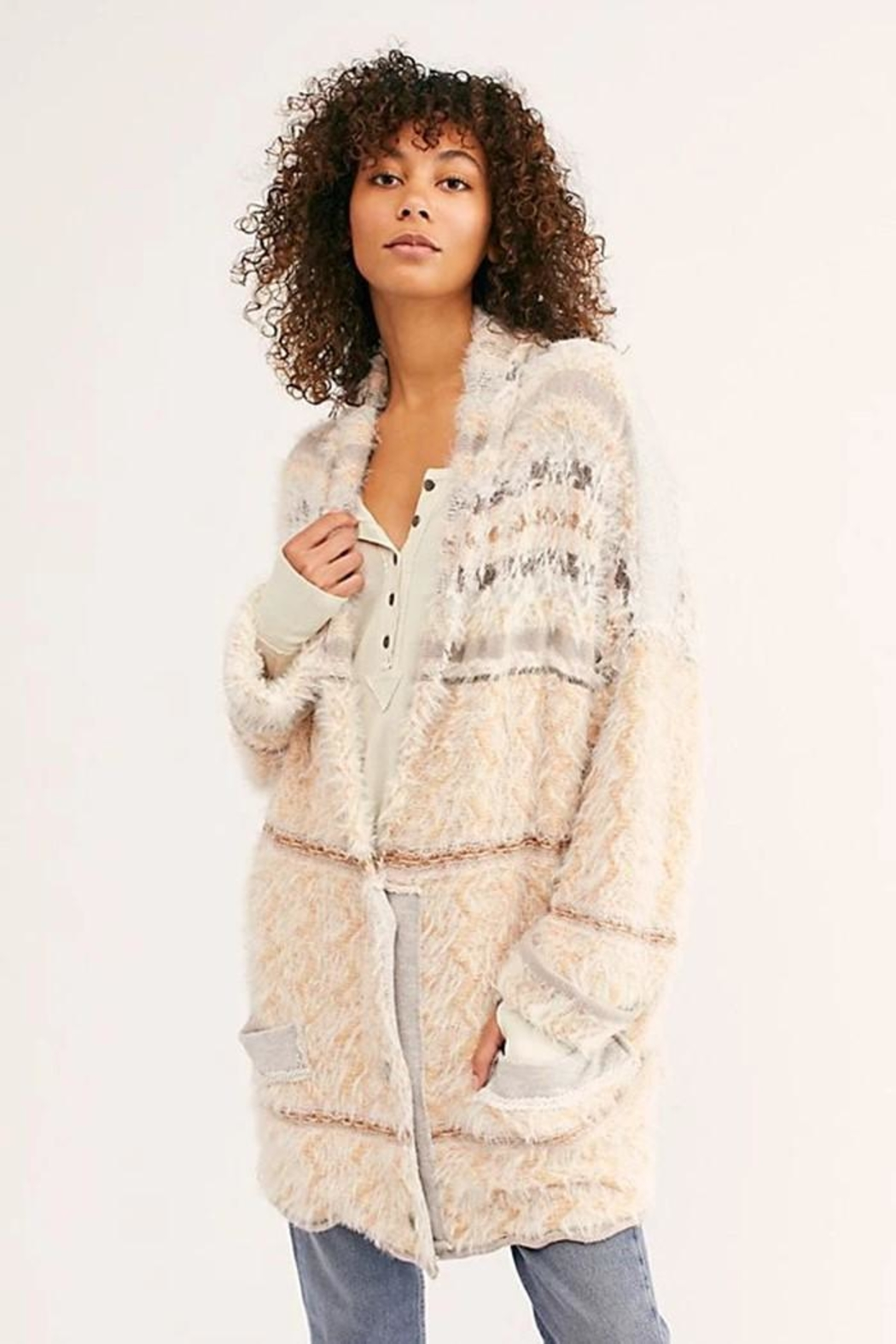 Free People Fair Weather Cardi - Front Full Image