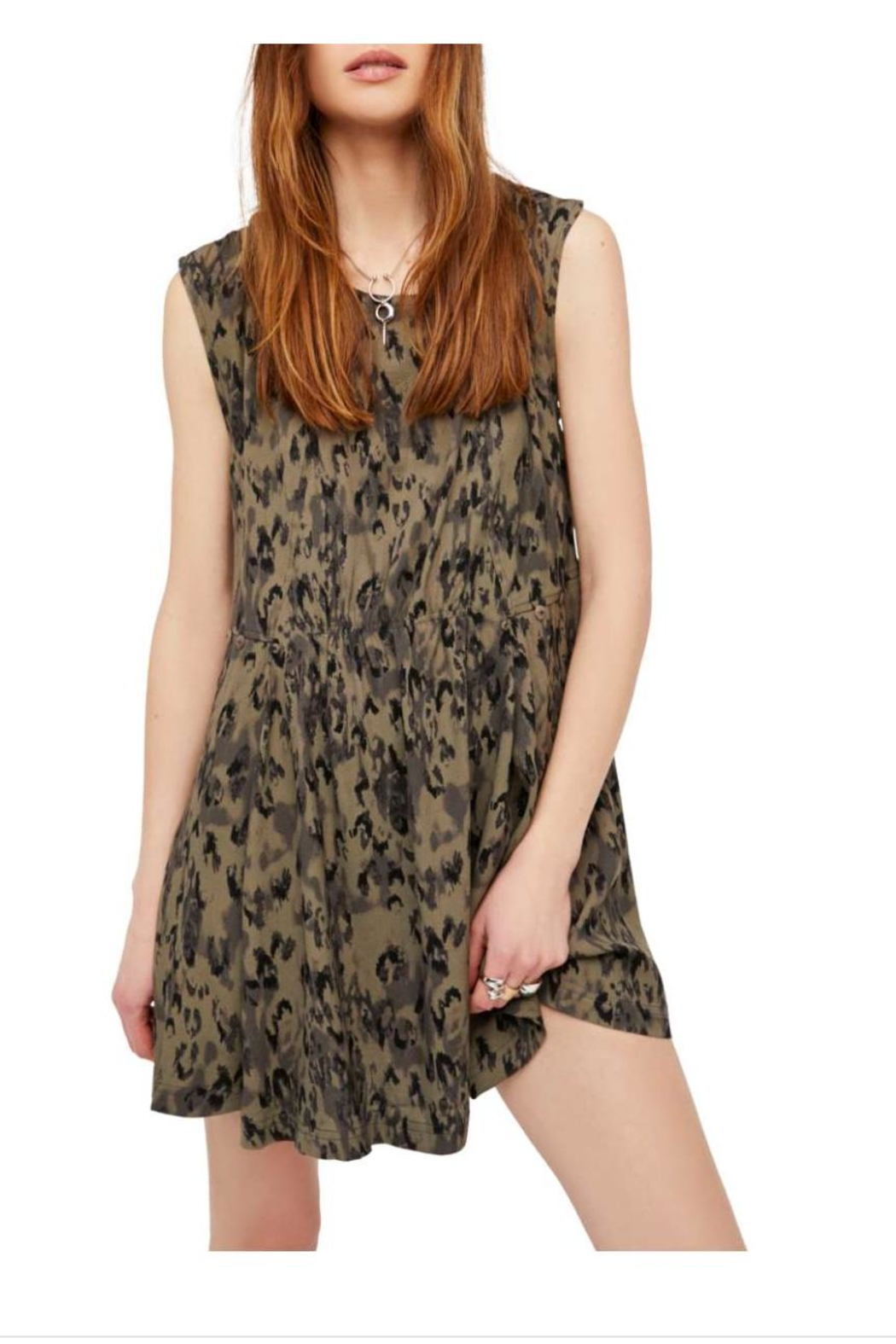 Free People Fake Love Minidress From Michigan By Whittaker House Green Front Cropped Image