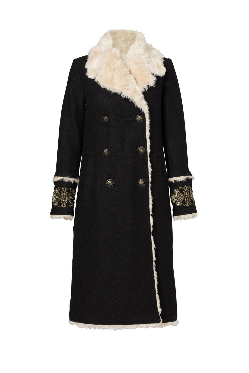 Free People Faux Shearling Coat - Main Image