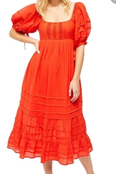 Free People Fp Let's Be Friends Midi - Product List Image