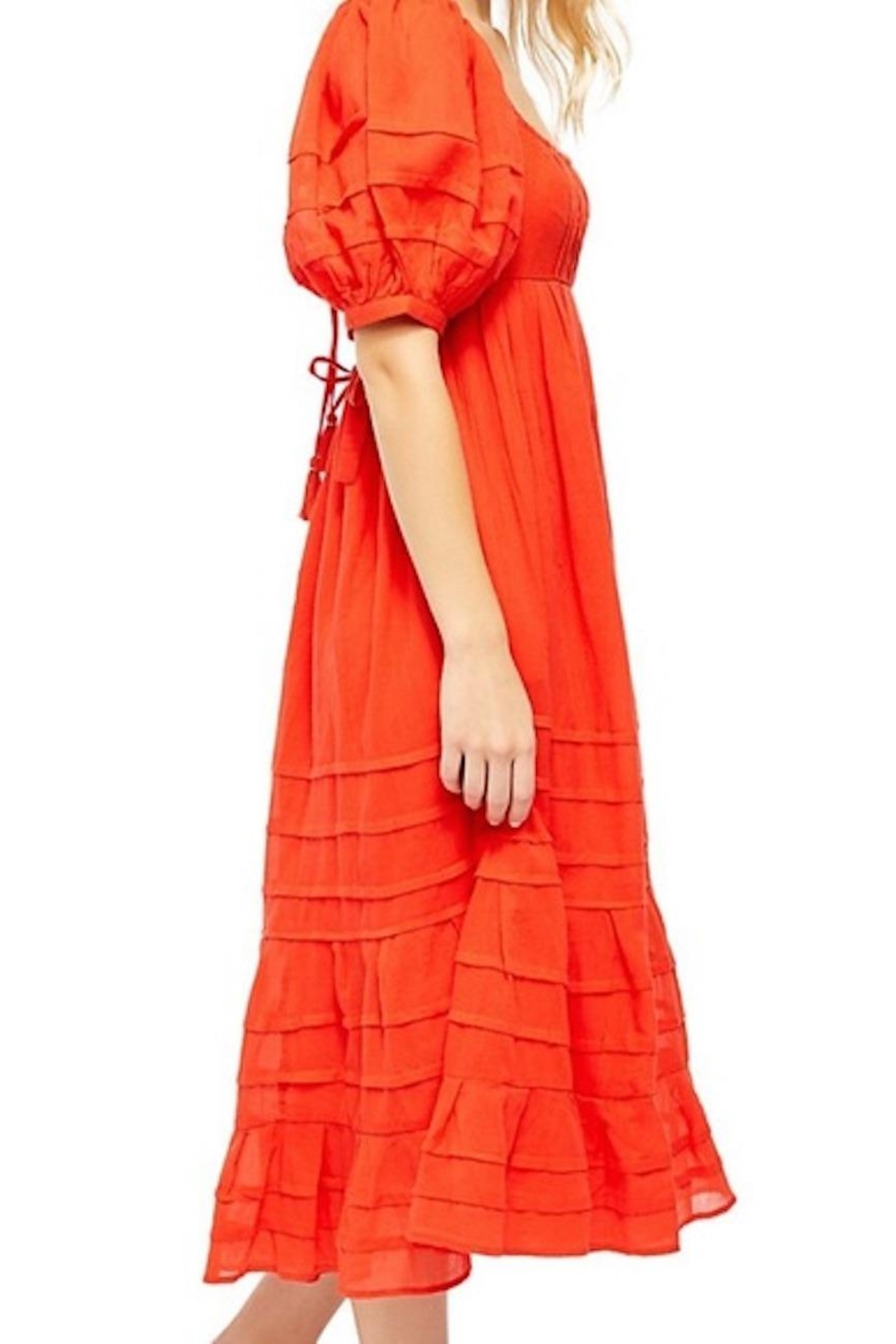 Free People Fp Let's Be Friends Midi - Back Cropped Image