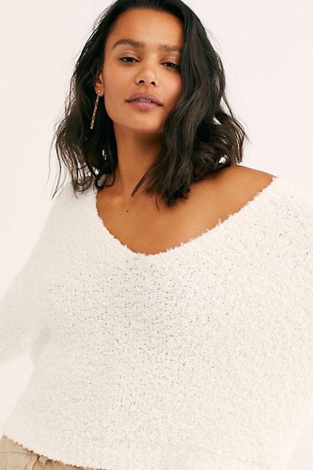 Free People Finders Keepers V-Neck - Side Cropped Image