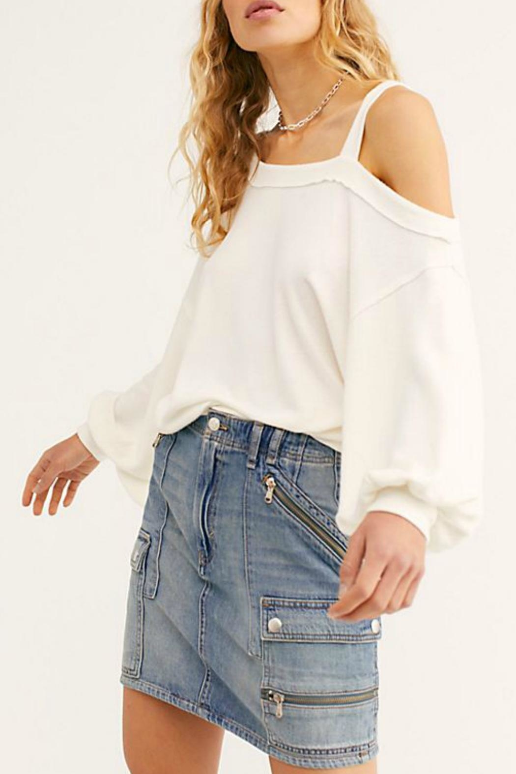 Free People Flaunt It Tee - Front Cropped Image