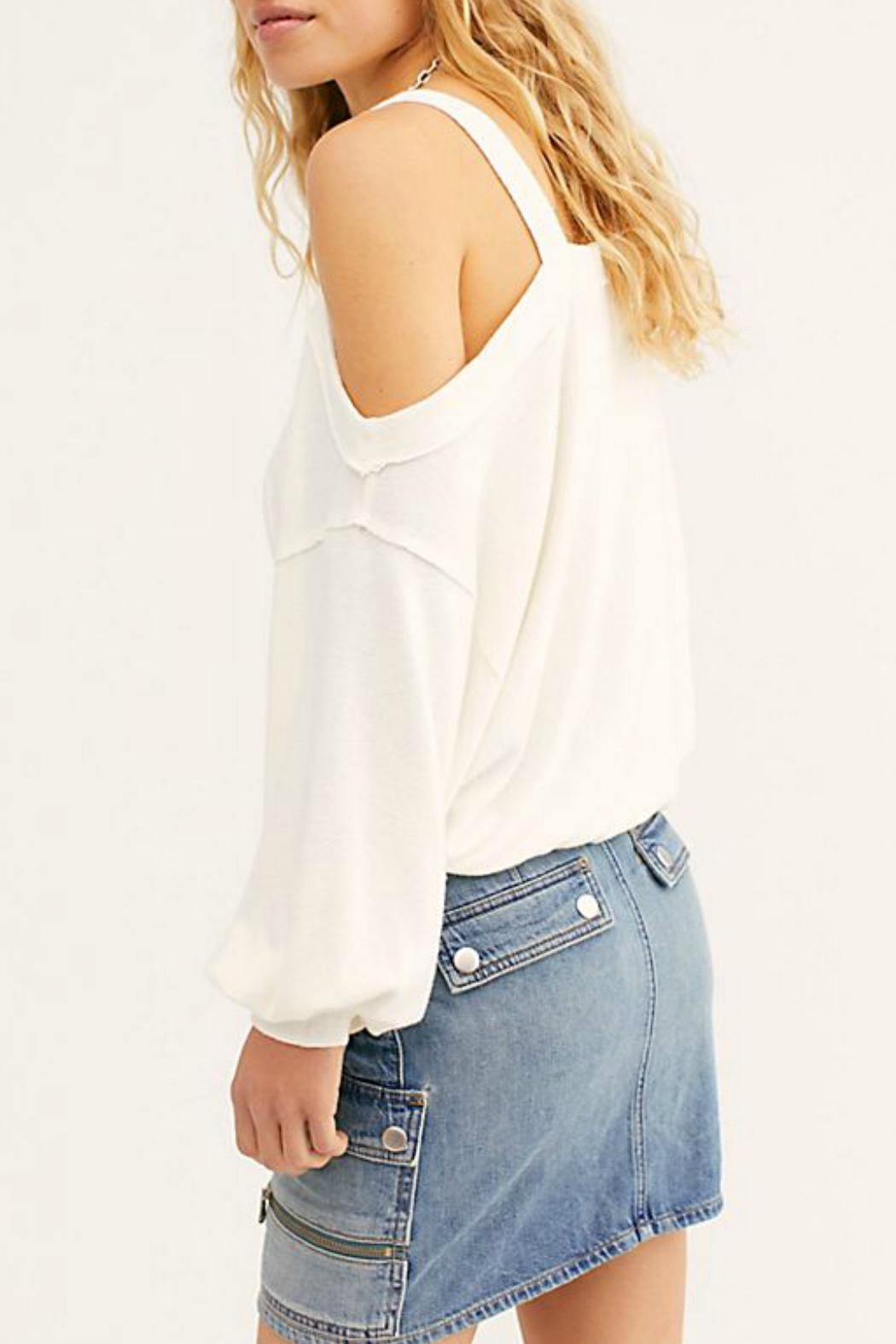 Free People Flaunt It Tee - Front Full Image