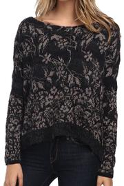Free People Floral Fields Sweater - Product Mini Image