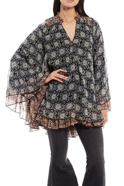 Free People Floral Flowy Tunic - Product Mini Image