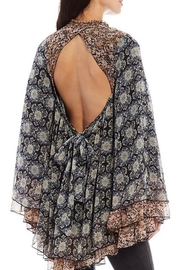 Free People Floral Flowy Tunic - Front full body