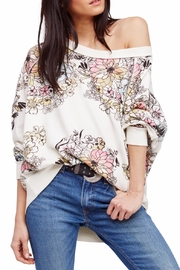 Free People Floral Printed Pullover - Front cropped