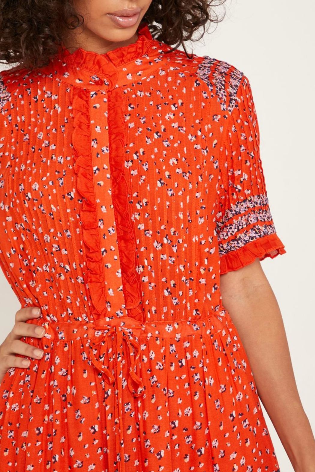 Free People Floral Tiered Maxi Dress - Side Cropped Image