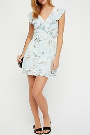 Free People Floral Wrap Dress - Product Mini Image
