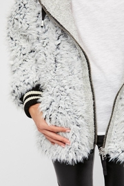 Free People Fluffy Dolman Jacket - Front full body