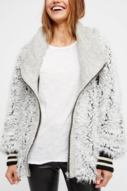 Free People Fluffy Dolman Jacket - Front cropped