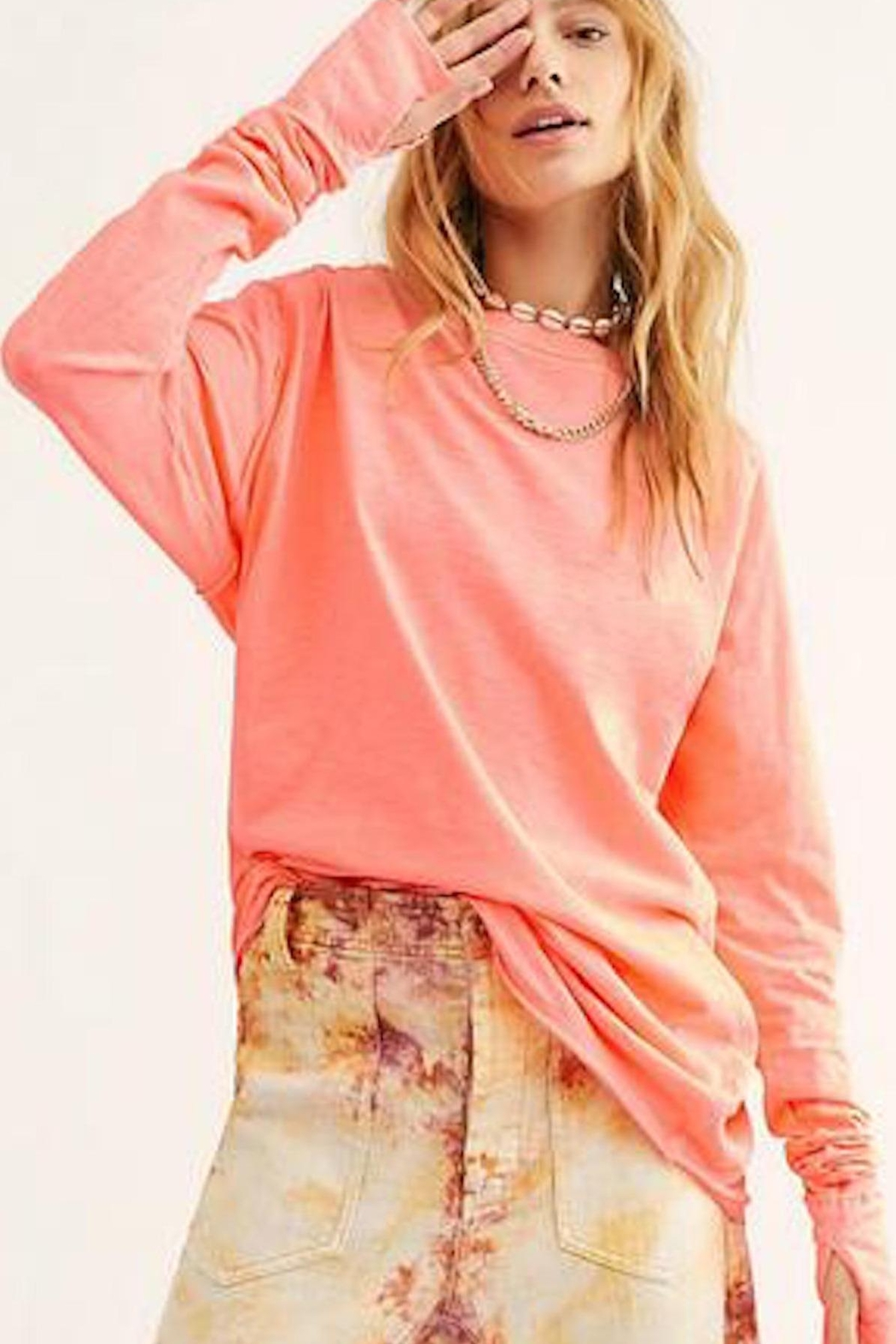 Free People Fp Arden Tee - Front Cropped Image