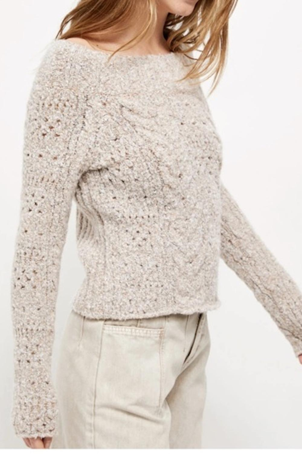 Free People Fp Avalon Pullover - Front Full Image