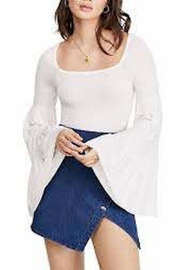 Free People Fp Babetown Blouse - Front full body