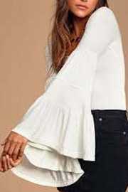 Free People Fp Babetown Blouse - Product Mini Image