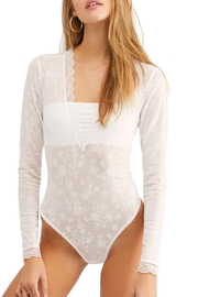 Free People Fp Bandeau Bodysuit - Front cropped