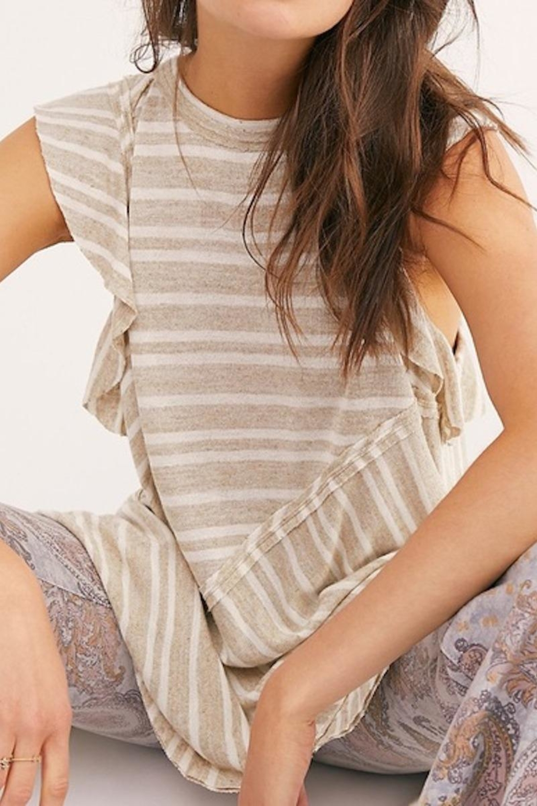 Free People Fp Between The Lines - Front Cropped Image