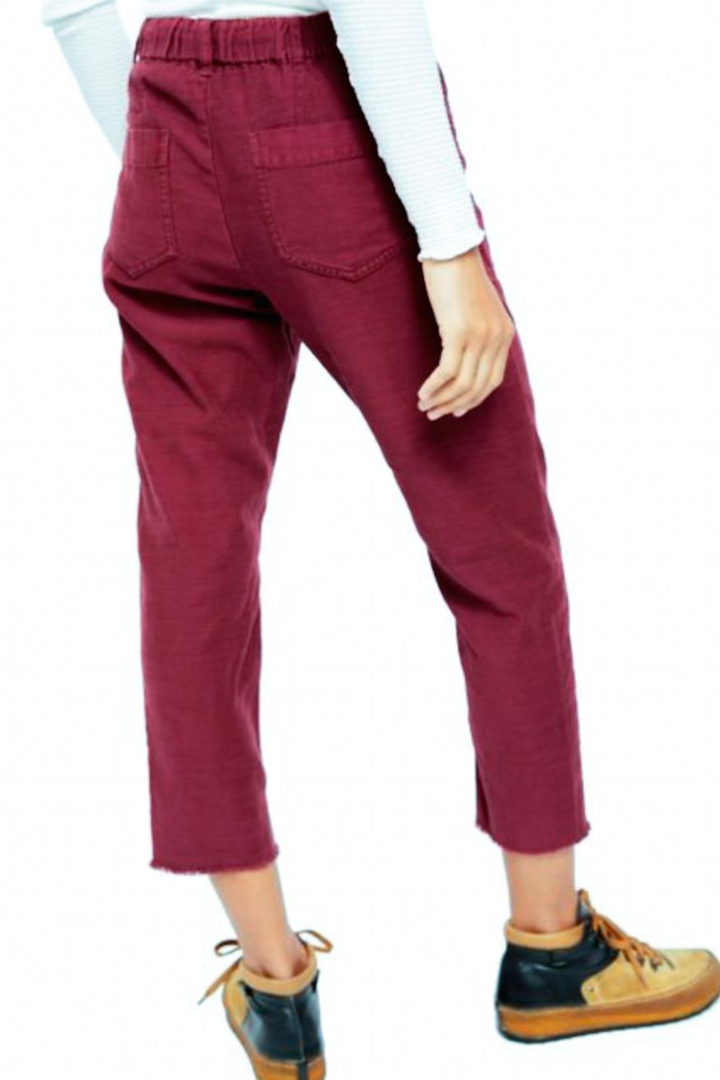 Free People Fp Boyfriend Pant - Side Cropped Image