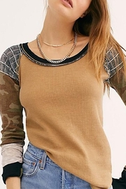 Free People Fp Bright-Side Waffle - Front cropped