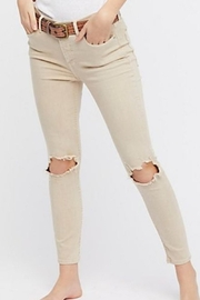 Free People Fp Busted Knee Jean - Front full body