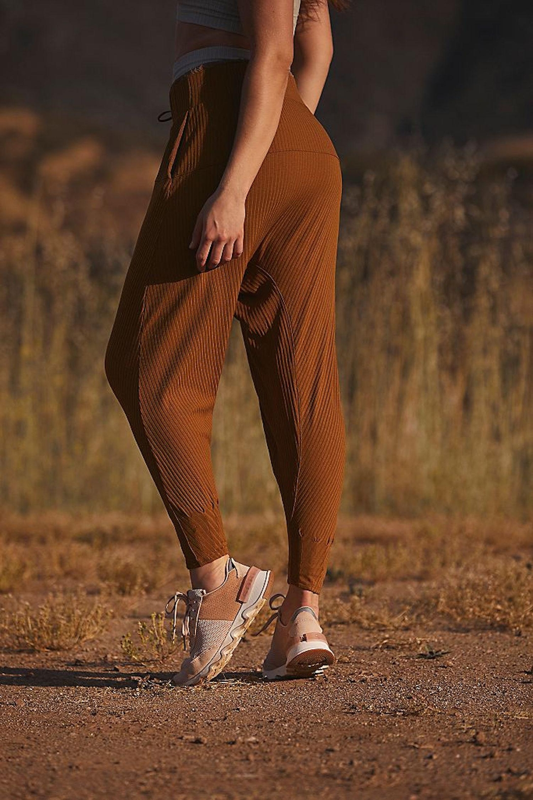 Free People Fp Can't Handle Harem - Back Cropped Image