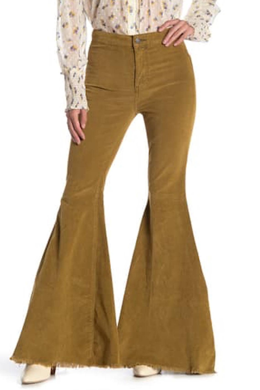 Free People Fp Cord Flare - Front Full Image