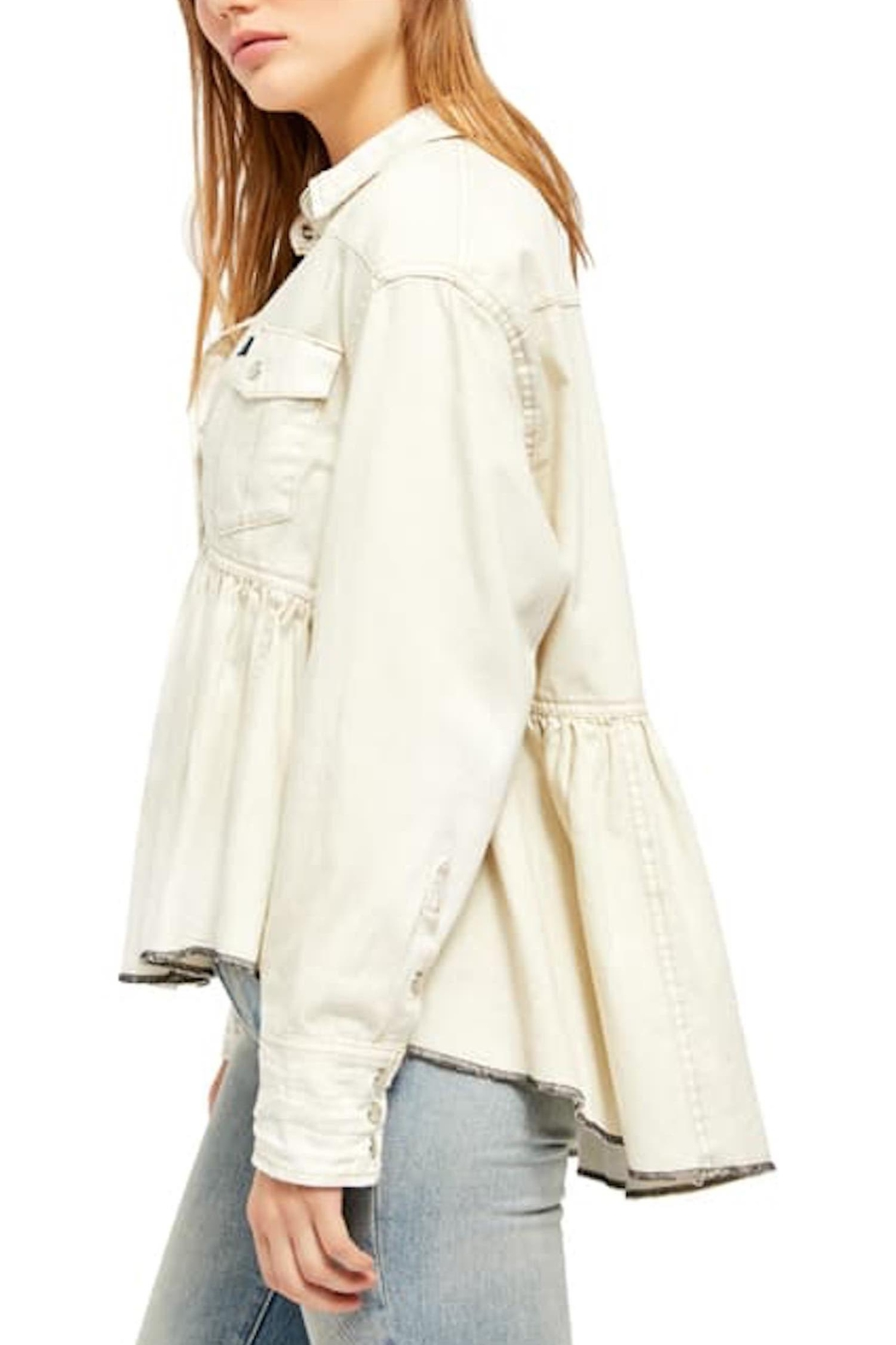 Free People Fp Dylan Babydoll - Side Cropped Image
