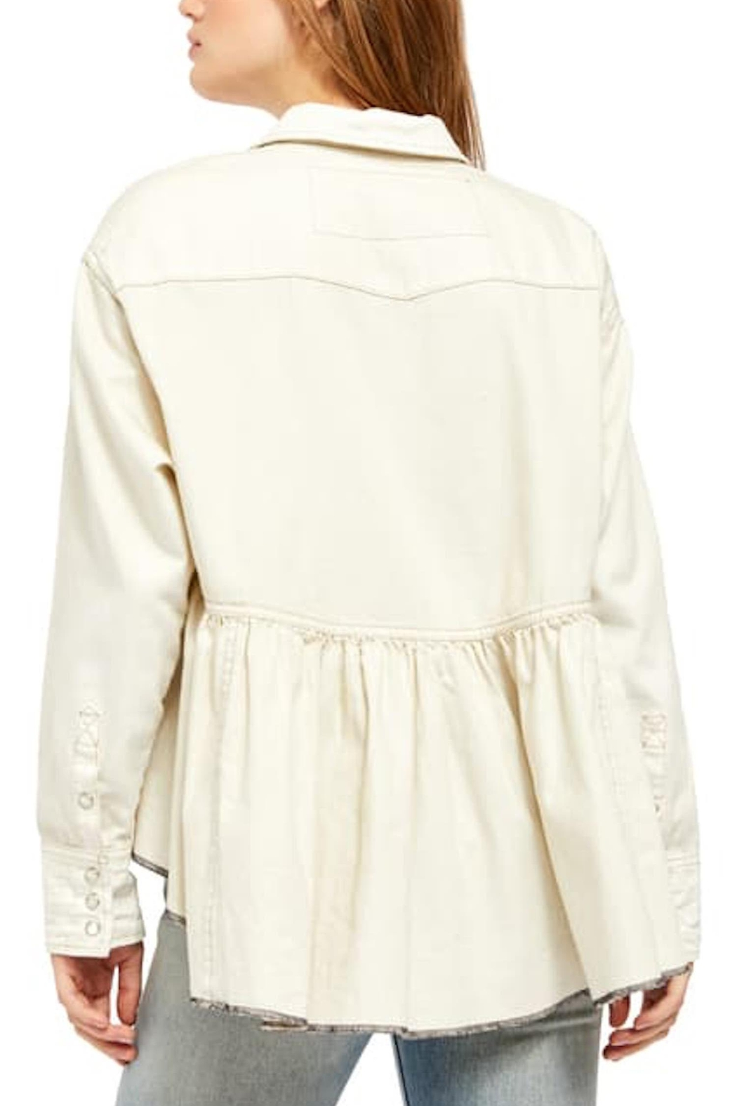 Free People Fp Dylan Babydoll - Back Cropped Image