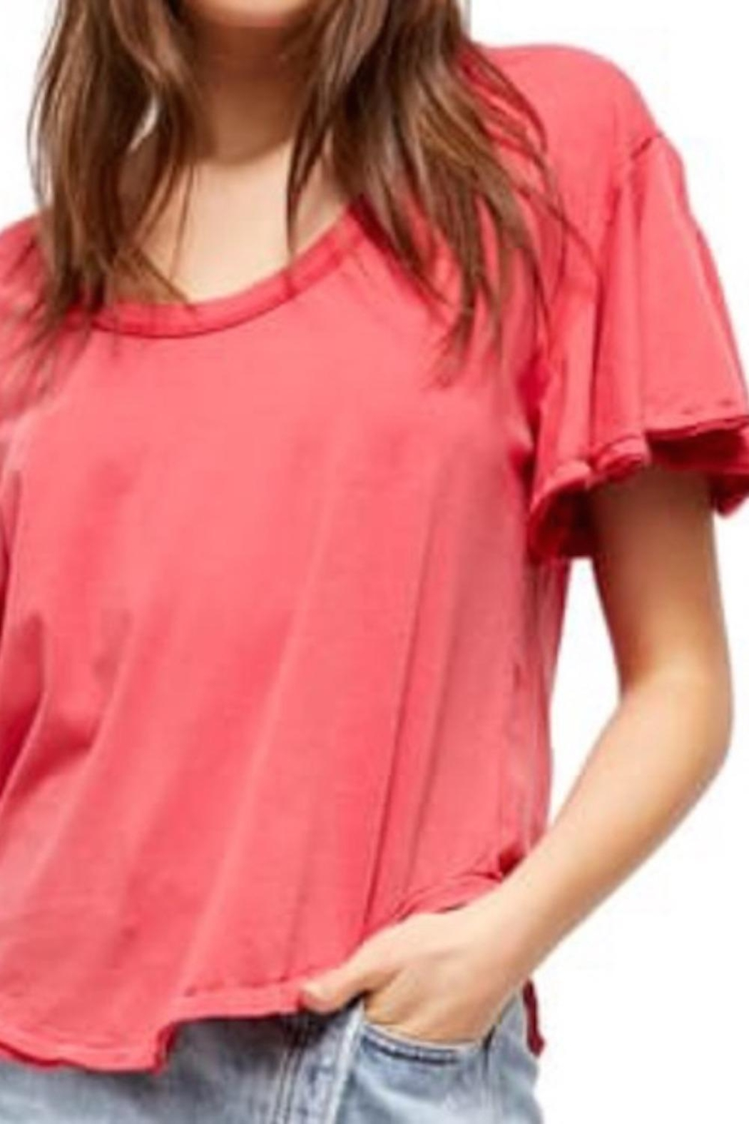 Free People Fp Float-On Tee - Front Cropped Image